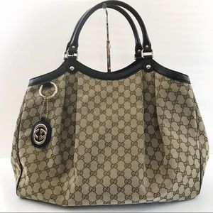 Gucci Bags - Authentic Gucci Sukey Large Tote